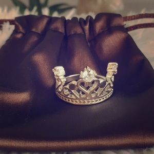Jewelry - Queen, princess, tiara, quinceanera ring size 8